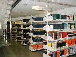 Modular College Library Racks