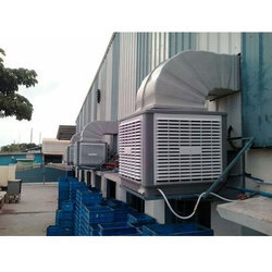 Evaporative Discharge Air Cooler