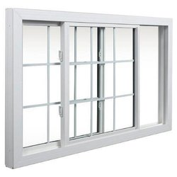 UPVC Toughened Glass Sliding Window