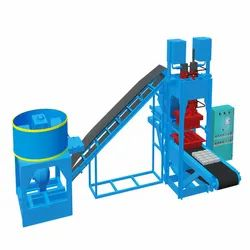 Lever Operated Fly Ash Bricks Making Machine
