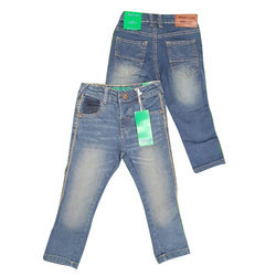 Faded Denim Boy Kids Blue Jeans