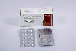 Levocetirizine Hydrochloride & Montelukast Sodium Tablets