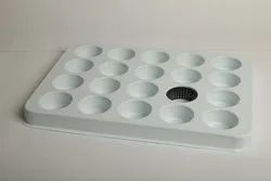White HIPS PLASTIC PACKING TRAY, For Auto And Bearing Manufacturer