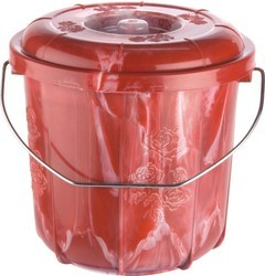 Dynasty Plastic SGT Double Colour Bucket, Capacity: 3 LTRS