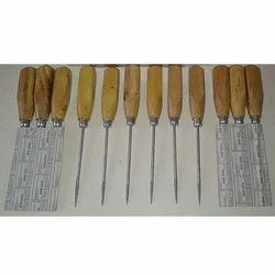 Wooden Handle Ice Picks