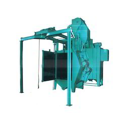 Spinner Hanger Y Shape Monorail Type Shot Blasting Machine