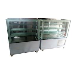 Flat Glass Sweets Display Counter