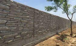 Decorative Boundary Wall
