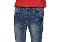 Solid Blue Stylish Jeans For Mens
