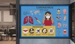 Awareness Perforated Window Sign