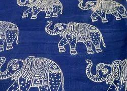 Jaipuri Block Printed Fabric