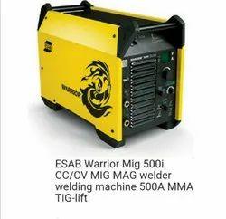 ESAB Warrior MIG 500i CC/CV MIG MAG Welding Machine 500 A MMA Tig-Lift