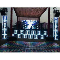 Function/Party DJ Setup And LED Video Wall Rental Installation Service