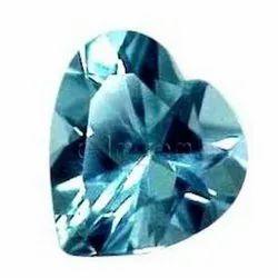 Aquamarine Faceted Gemstone