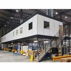 Steel Warehouse Mezzanines