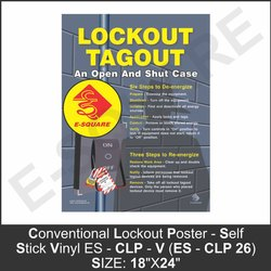Lockout Tagout Poster
