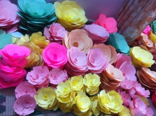 Giant Paper Flowers Whole Sale Various Types