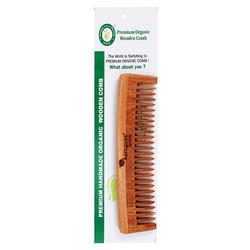 Premium Original Herbal Neem  Wider Teeth Comb