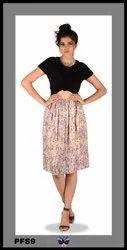Western Skirt for Girls