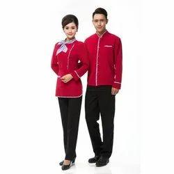 Cotton Mix Hotel Waiter Uniform, Size: M-XXL