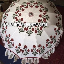 Block Printed Umbrellas