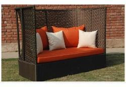 Stylish Outdoor Wicker Sofa