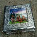 Silver Dry Fruit Box