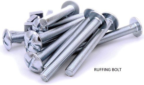 Round Head M6 M20 Roofing Bolts For Industrial Size 2 5