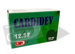 Carvedilol Tablets 12.5mg