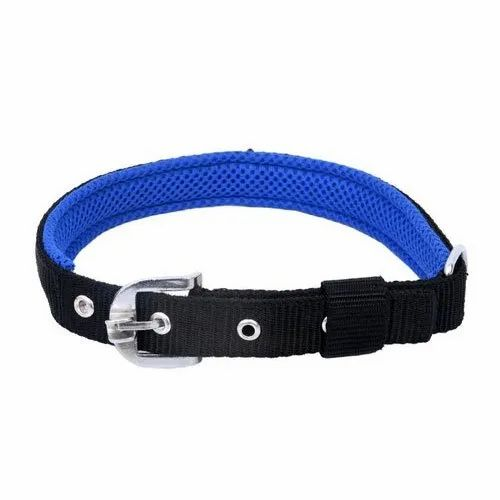 Blue and Black Polypropylene Padded Collar