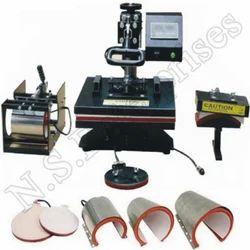 T-Shirt Hot Press Machine 8 In 1, Automation Grade: Semi-Automatic, Capacity: 50*38*45cm