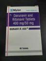DURART-R 450 - Darunavir and Ritonavir 400 mg / 50 mg
