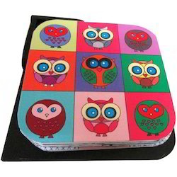 Tea Coasters, For Office, Size: 3.5x3.5 Inch