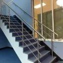 Stairs 304 Stainless Steel Staircase Railing, Material Grade: Ss304