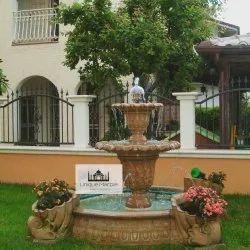 Beautiful Outdoor Stone Fountain