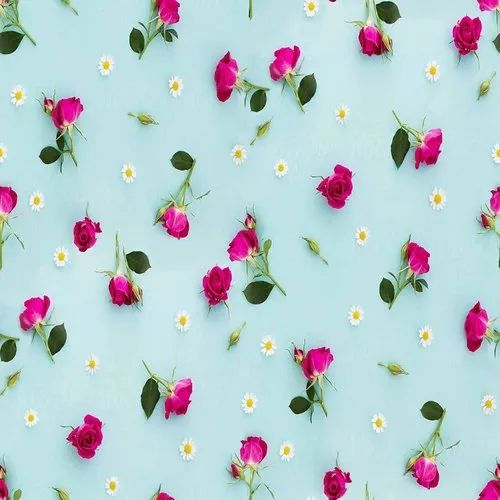 Floral Pattern Digital Printed Fabric For Garment.