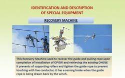 OPGW Hydraulic Recovery Machine