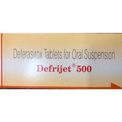 Deferasirox Tablets For Oral Suspension