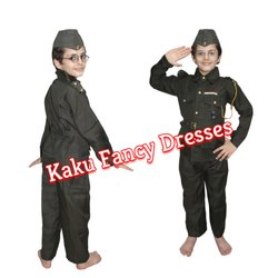 Kids Subhash Chandra Bose Dress Costume