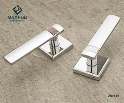 Square Shaped Mortise Handle With Marble