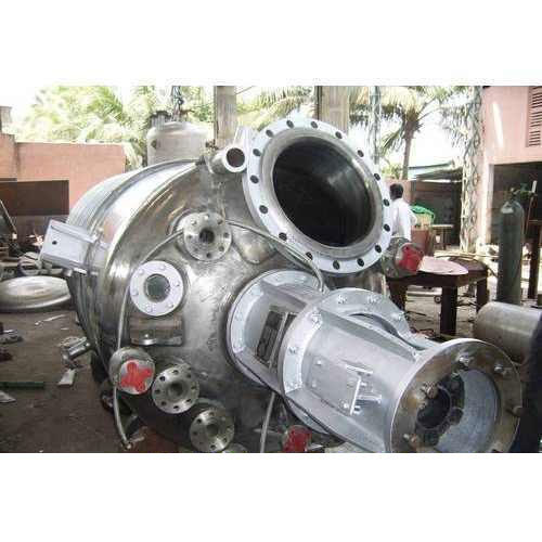 Stainless Steel Reactor Vessels, Capacity: 100-500 L