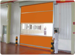 Standard Mild Steel Gka High Speed Doors, For Industrial