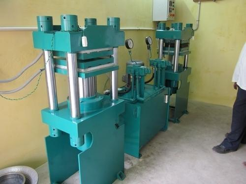 Blue Three Phase Hydraulic Rubber Moulding Machine, Automation ...