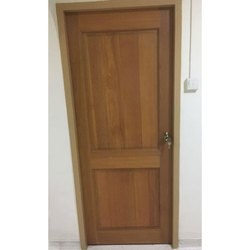 Interior Hinged Teak Wood Bedroom Door Size 7 3 Feet H W Rs 7000 Piece Id 21428057612