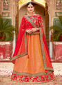 Wedding Fuction Special Designer Jacquard Silk Lehenga