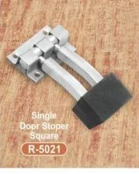 R-5021 Single Door Stopper Square  Stainless Steel Door Kit