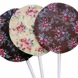 Homemade Chocolate Lollipop