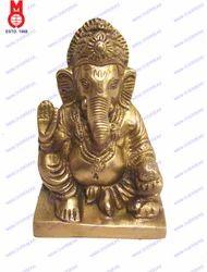 Ganesh Sitting Shah Statue
