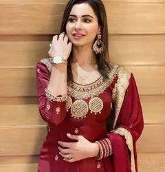 Punjabi Design Suits Cotton Salwar Kameez