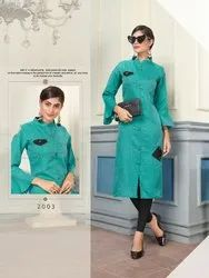 Kesar Roy Vol-2 Series 2001-2008 Stylish Party Wear Cotton Kurti